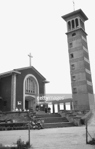"""Sanctuary of """"Nuestra Señora de Fatima"""" Bilbao Vizcaya Spain 1967"""