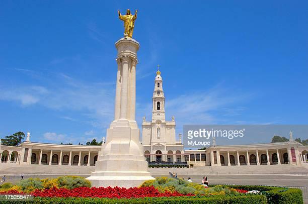 Sanctuary of our Lady of Fatima Fatima Estremadura Portugal