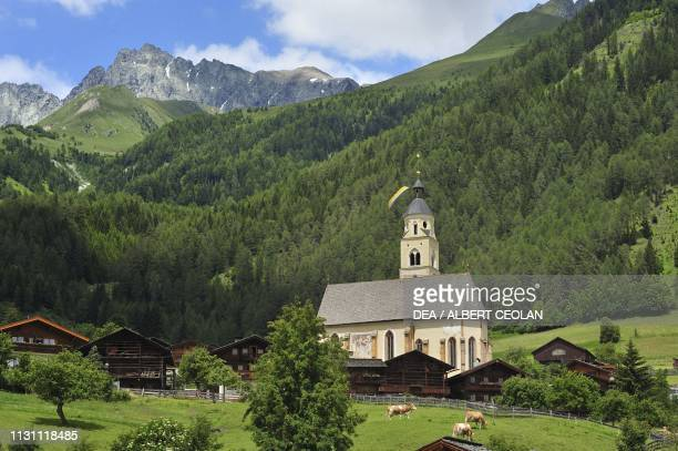 Sanctuary of Our Lady of the Snow 1456 ca Obermauern Tyrol Austria 15th century