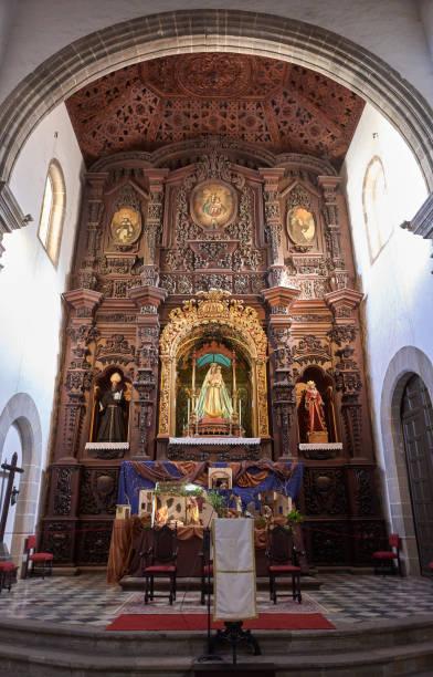 Sanctuary of the Church of San Agustin