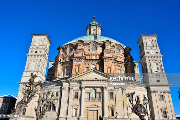 sanctuary of vicoforte, cuneo (italy) - cuneo stock pictures, royalty-free photos & images