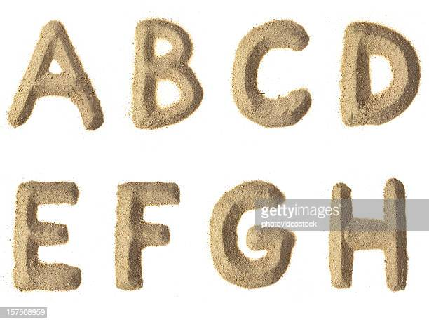 une lettre de l'alphabet xxxl - font photos et images de collection