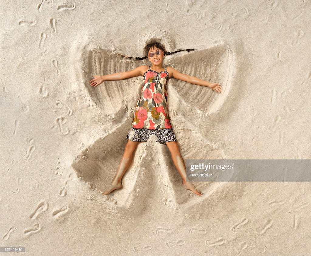 Sand Angel : Stock Photo