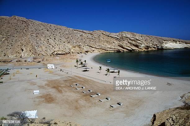 Sand beach near Muscat Oman
