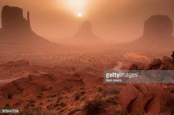 Sand Buttes, Monument Valley, Navajo Tribal Park, Arizona, USA