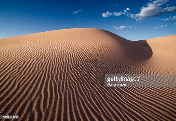 Sand dune and blue sky