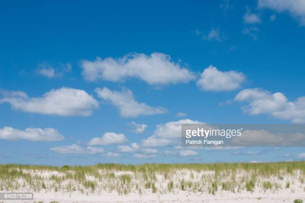 Sand Dune & Clouds