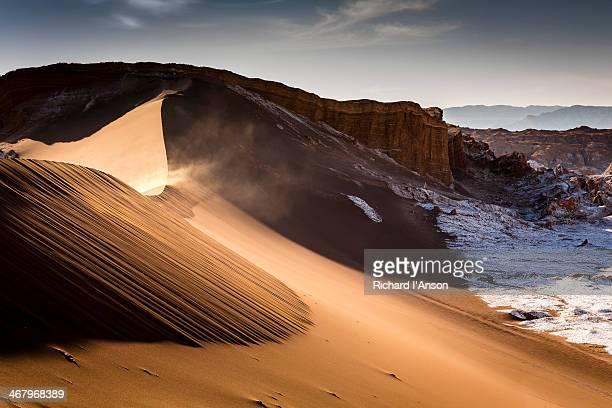 Sand dune in Valley of the Moon, Atacama Desert