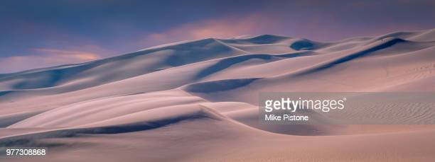 sand dunes, great sand dunes national park, colorado, usa - great sand dunes national park stock pictures, royalty-free photos & images