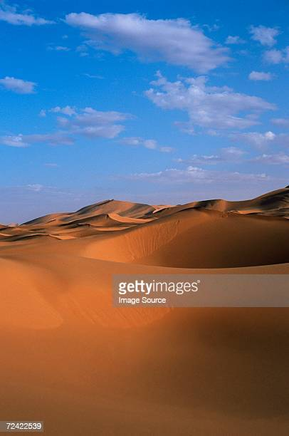 sand dunes in sahara desert - merzouga stock pictures, royalty-free photos & images