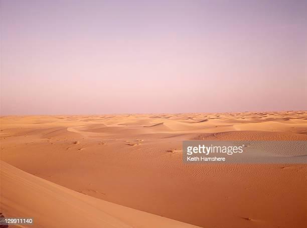 Sand dunes in the Algerian desert, 1973.