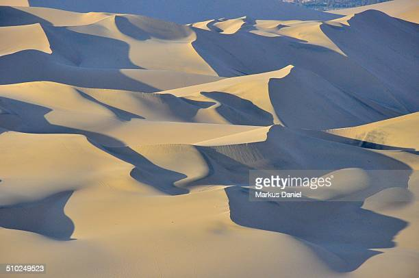 Sand Dunes in the desert near Huacachina, Peru
