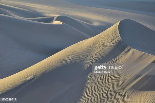 Sand Dunes in the Desert near Huacachina, Peru