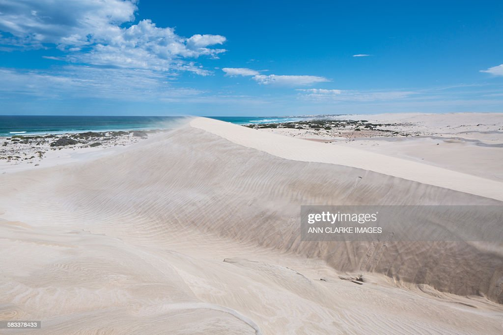 Sand dunes  landscape : Stock Photo