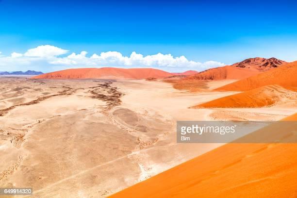 Sand dunes, Sossusvlei, Namib Desert, Namibia