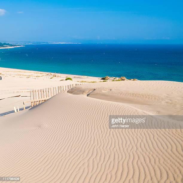 Sand dunes, Tarifa, Spain