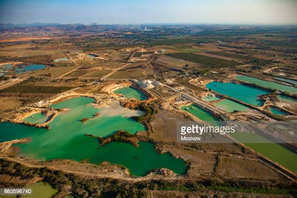 Sand extraction industry