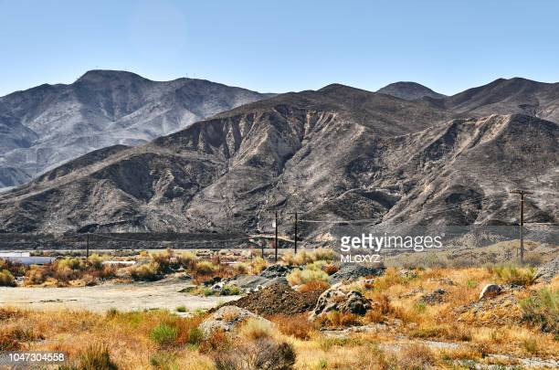 sand fire aftermath - santa clarita stock pictures, royalty-free photos & images