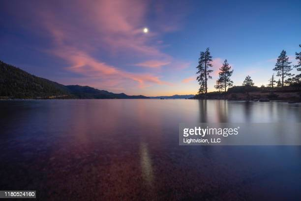 sand harbor park in lake tahoe, nevada - lake tahoe stock pictures, royalty-free photos & images