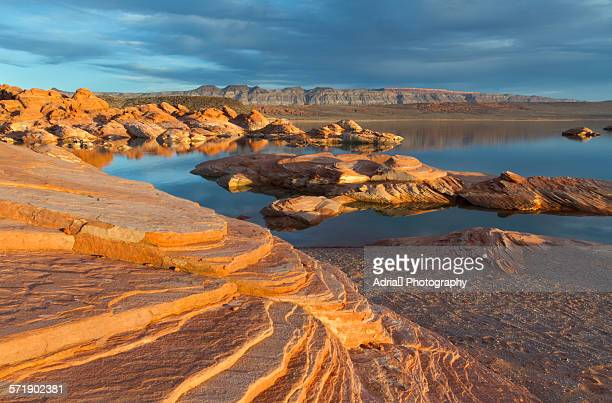 sand hollow state park - st. george utah stock pictures, royalty-free photos & images
