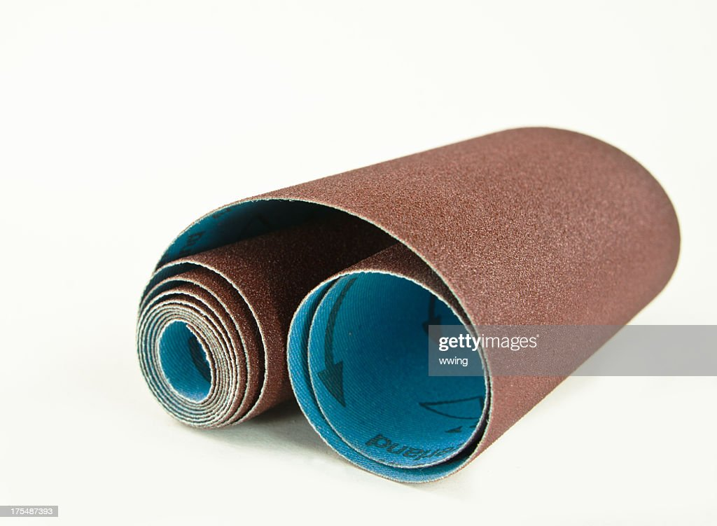 Sand Paper Roll : Stock Photo