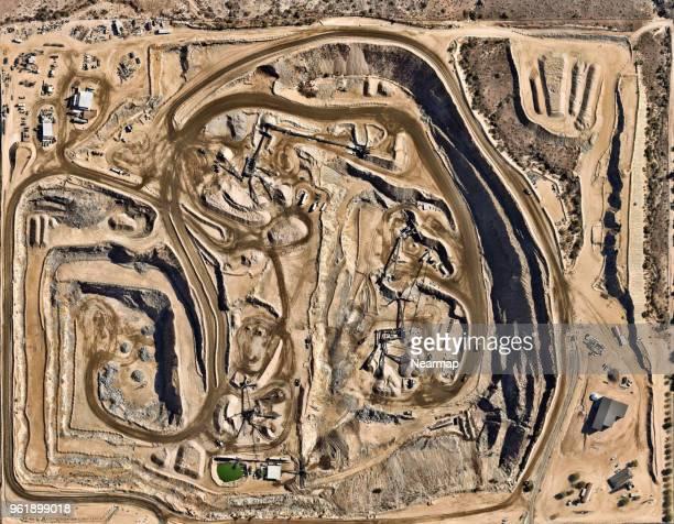Sand quarry in Phoenix, Arizona, USA