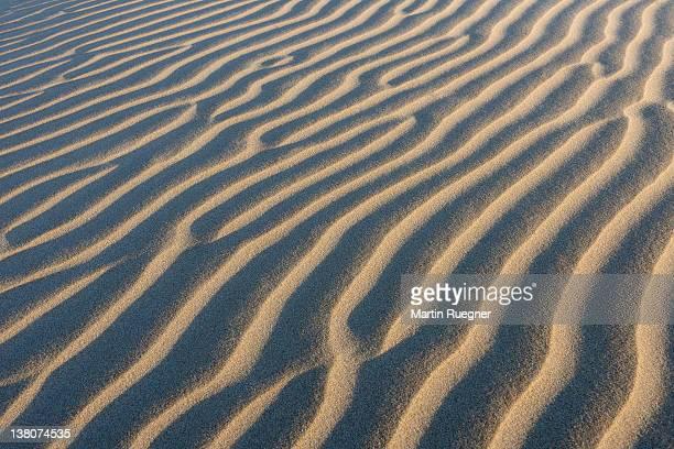 Sand ripples.