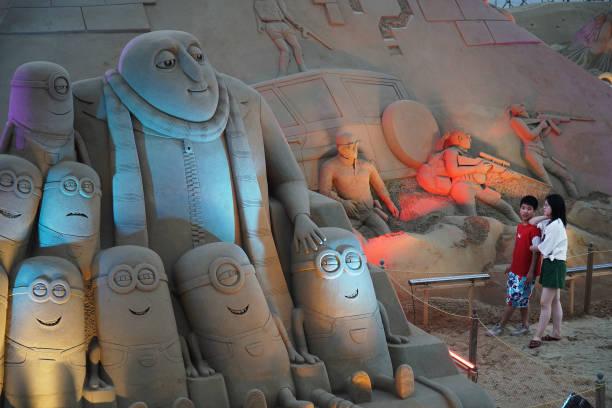 CHN: 21st China Zhoushan International Sand Sculpture Festival