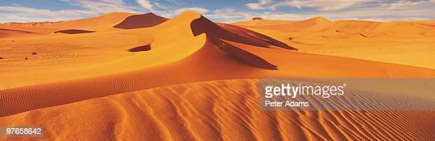 sand sea, namib desert, namibia, africa - ナミブ砂漠 ストックフォトと画像