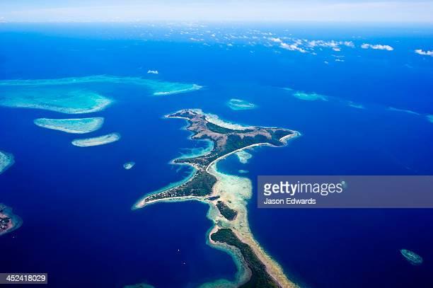 Taveuni Island, Somosomo Strait, Pacific Ocean, Fiji Islands.