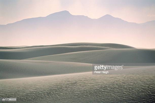 Sand Storm, White Sands National Monument, New Mexico, USA