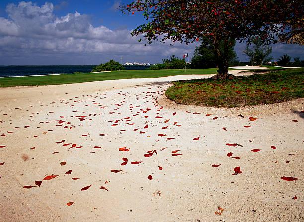 Sand Trap at Pok-Ta-Pok Club de Golf