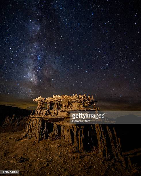 Sand Tufa at Night