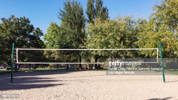 Sand Volley ball court at a public park in Nevada