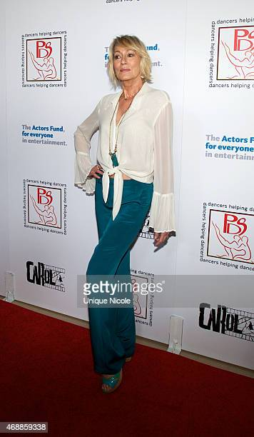 Sandahl Bergman attends the 28th Annual Gypsy Awards Luncheon at The Beverly Hilton Hotel on March 29 2015 in Beverly Hills California