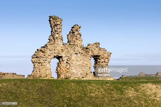 Sandal Castle Ruins in Wakefield in West Yorkshire