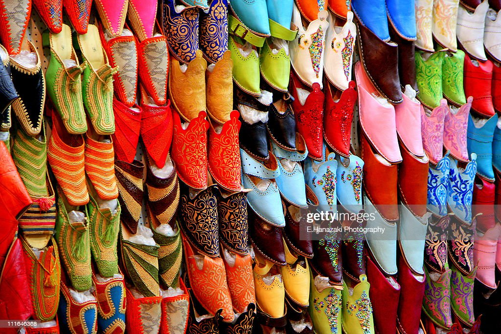 Sandals - Selling colors : Stock Photo