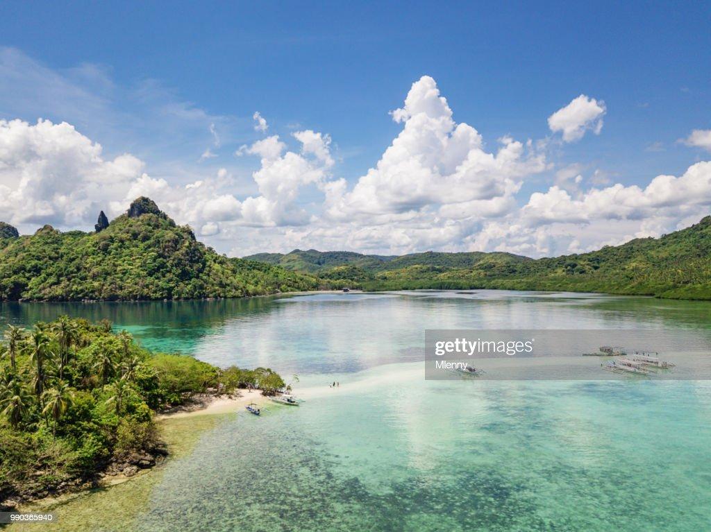 Sandbar Snake Island Vigan Island El Nido Palawan