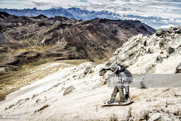 Sandboarding on the summit of Pico Pan de Azucar the highest place to practice sandboard in the world Sandboarding is an activity similar to...