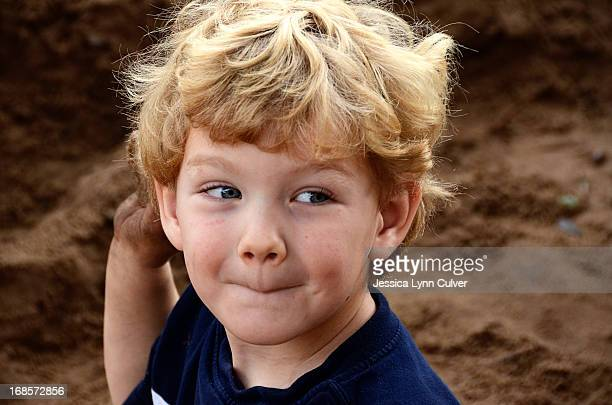 Sandbox Toddler Boy