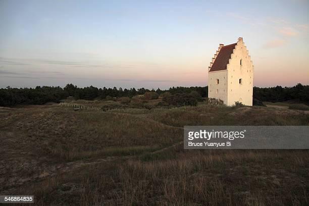 Sand-Buried Church
