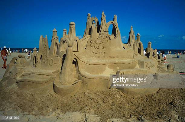 Sandcastle on SPadre Island Beach