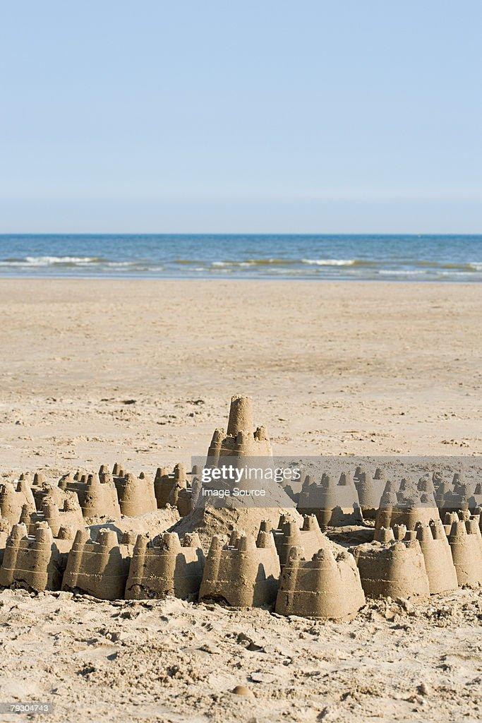 Sandcastle : Stock Photo