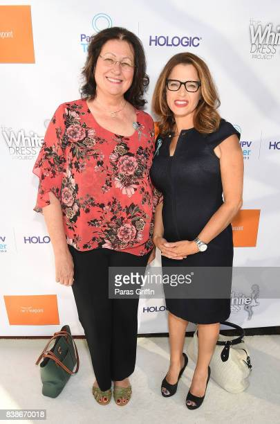 Sandee LaMotte and Elizabeth Cohens at 'The Immortal Life Of Henrietta Lacks' Viewing Panel Discussion with Renee Elise Goldsberry Dr Jessica...