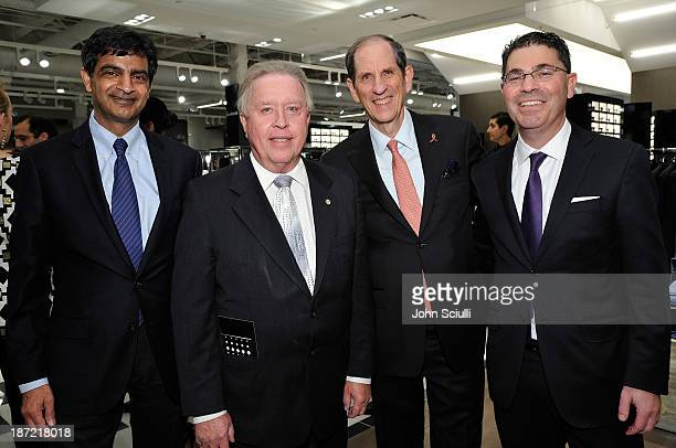 Sandeep Mathrani Mayor Dave Weaver Michael Gould Bloomingdale's chairman and CEO and Tony Spring Bloomingdale's president and COO attend...