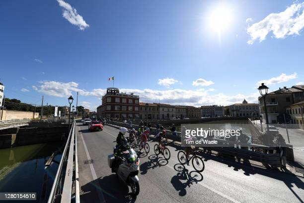 Sander Armee of Belgium and Team Lotto Soudal / Marco Frapporti of Italy and Team Vini Zabu KTM / Mattia Bais of Italy and Team Androni Giocattoli -...