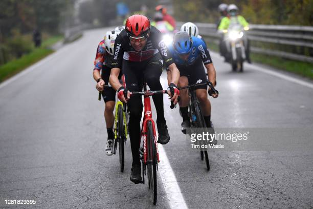 Sander Armee of Belgium and Team Lotto Soudal / Victor Campenaerts of Belgium and NTT Pro Cycling Team / Breakaway / during the 103rd Giro d'Italia...