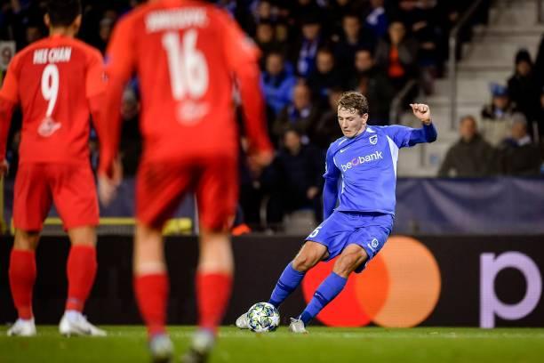Krc Genk v Fc Salzburg - Champions League