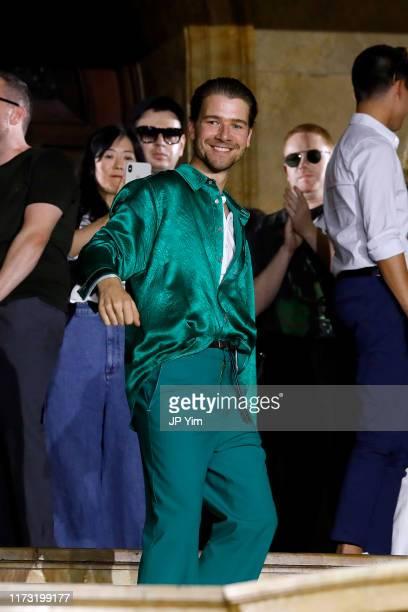 Sander Lak walks the runway for Sies Marjan during New York Fashion Week The Shows on September 08 2019 in New York City