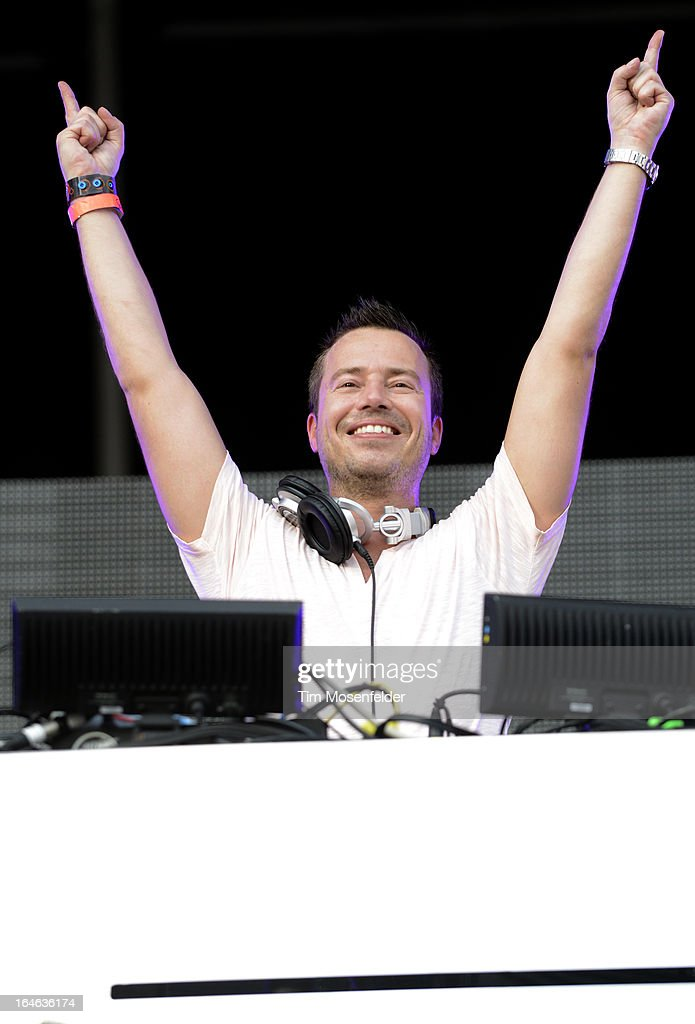 Sander Van Doorn performs at the Ultra Music Festival on March 24, 2013 in Miami, Florida.